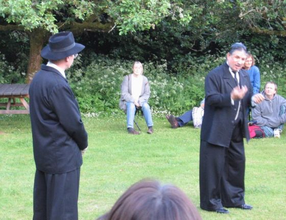 Keith Lomas and Shylock