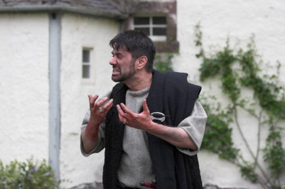 Macbeth with bloody hands