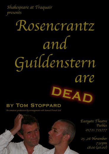 Rosenncrantz and Guildenstern are Dead Poster
