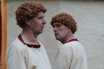 comedy of errors the two dromios Last year i played dromio of ephesus in an open air production of comedy of errors near my home town lovely people, lots of fun here are two of the scenes i was in cue luke being slagged off by bitchy-failed-actor-youtube-types in 3 2.