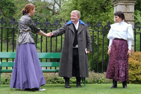 Beatrice, Benedick and Ursula