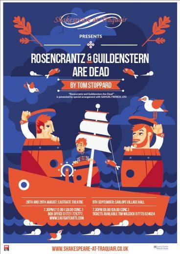 Rosencrantz and Guildenstern are Dead Poster