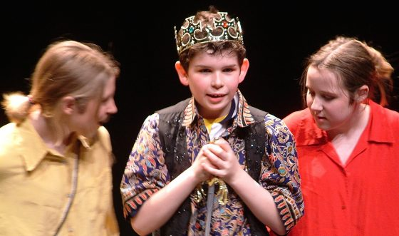 Shakespeare's Canon: young king