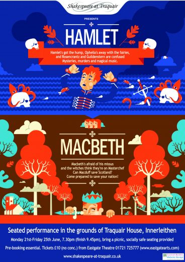 Hamlet and Macbeth 2021 Poster